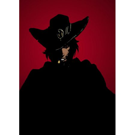 Overwatch - McCree - plakat