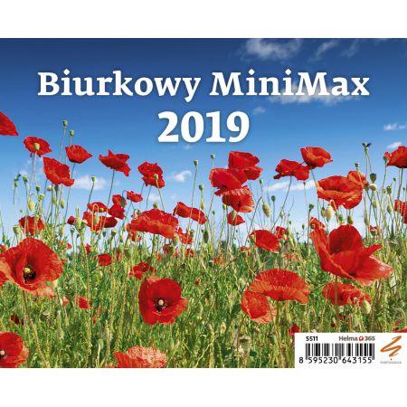 Kalendarz 2019 biurkowy minimax