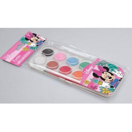 Farbki akwarelowe 12 kolorów Minnie Mouse