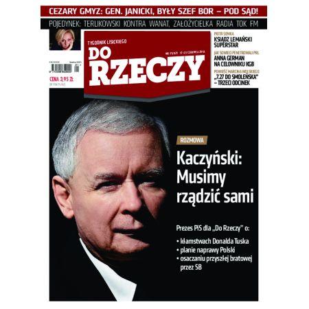 Tygodnik Do Rzeczy 21/2013
