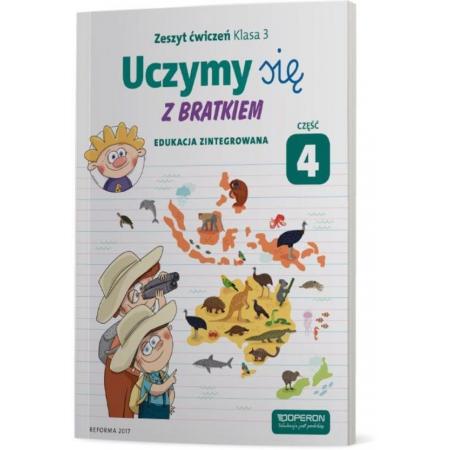 Uczymy się z Bratkiem 3 Zeszyt ćwiczeń cz. 4