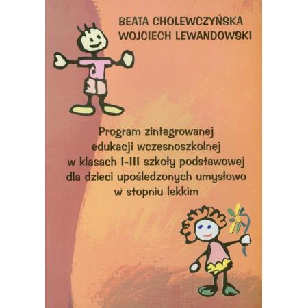 Program zint. ed. wczes. w kl. I-III SP..