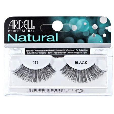 ARDELL_Natural 111 1 para sztucznych rzęs Black