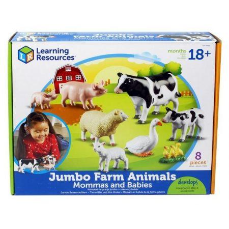 Duże Figurki. Zwierzęta na farmie. Zestaw 7 szt.