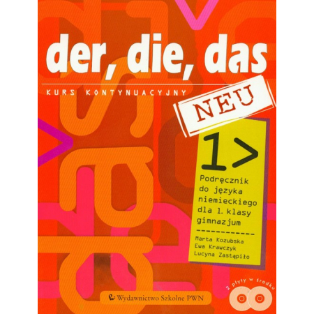 Język niemiecki GIM Der die das neu 1 Podręcznik z płytą CD Kurs kontynuacyjny
