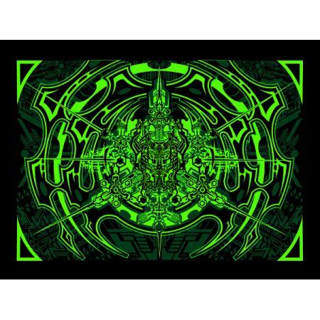 3120729c9ee79a GREEN ACID - plakat premium w TaniaKsiazka.pl