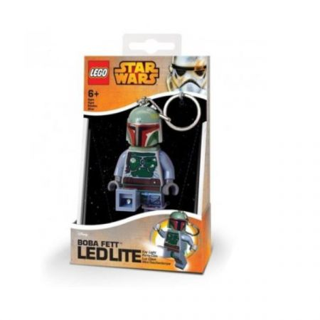 PROMO Lego Star Wars brelok mini LED Boba Fett 812981