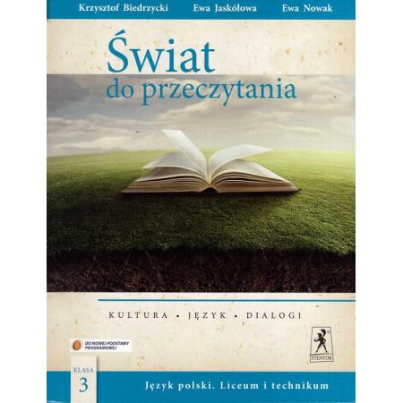 J.Polski LO Świat do przeczytania 3  NPP