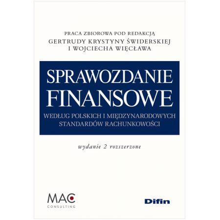 Sprawozdanie finansowe wg msr wyd.2 rozszerzone-difin
