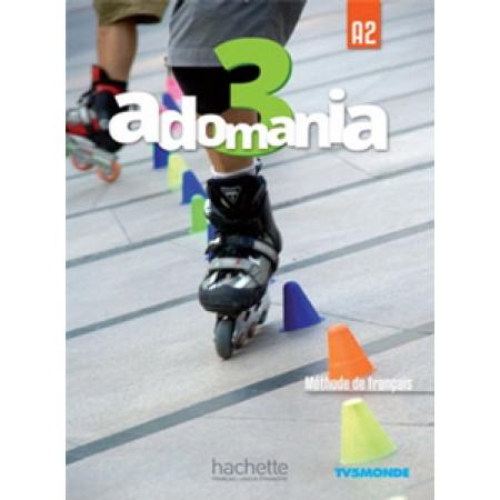 Adomania 3 podręcznik +CD