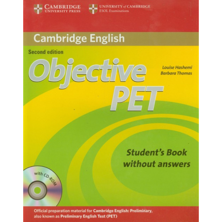 Objective PET Student's Book without Answers + CD