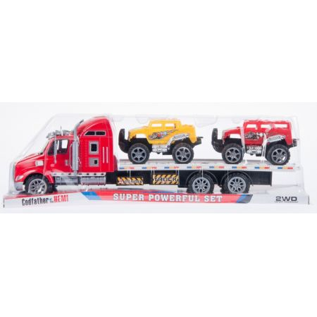 Auto ciężarowe laweta   akcesoria MEGA CREATIVE 459330