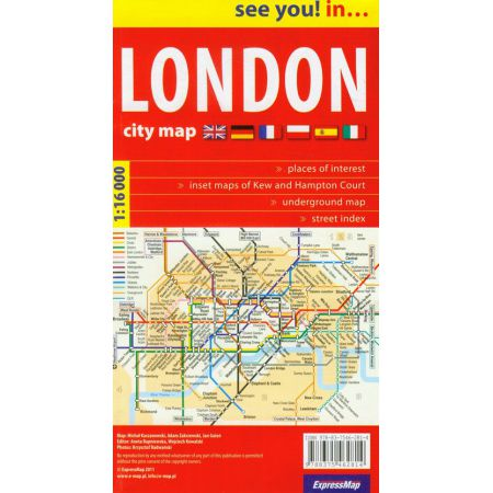 See you! in... Londyn - plan miasta 1:16 000