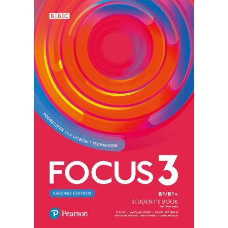 Focus Second Edition 3. Student's Book + kod (Digital Resources + Interactive eBook)