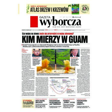 Gazeta Wyborcza - Wrocław 185/2017