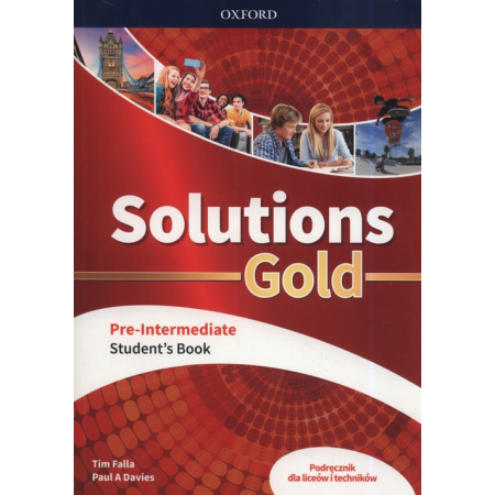 Solutions Gold Pre-Intermediate Student's Book. Fourth edition