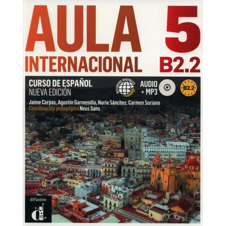 Aula Internacional 5 B2.2 podręcznik+ CD