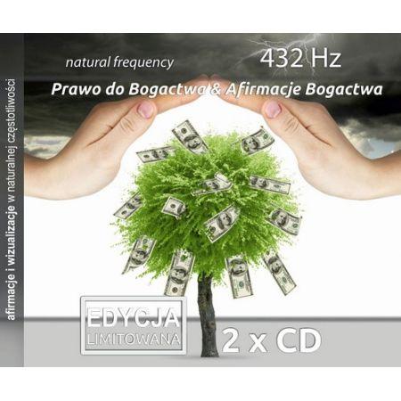 Prawo do bogactwa & Afirmacje bogactwa, 432 Hz, 2 CD