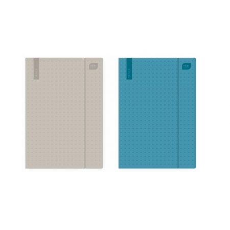 Teczka z gumką A4+ Mat+UV Office (10szt)