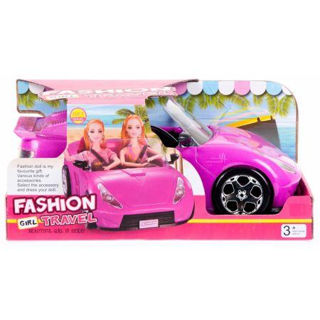Auto dla lalki na baterie + akcesoria 36x16x20cm MC