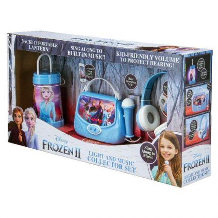 Zestaw 3w1 Torebka karaoke z mikrofonem, słuchawki, latarenka. Kraina Lodu 2 (można podłączyć MP3) FR-300