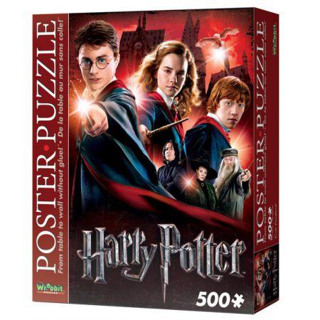 Wrebbit Poster Puzzle - Harry Potter Hogwarts school 500