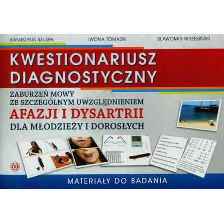 Kwestionariusz diagnostyczny. Materiały do badania
