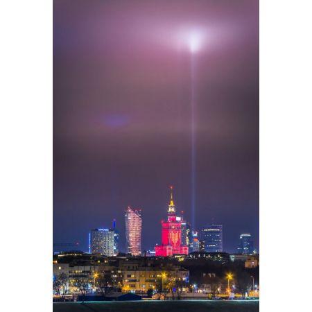 Warszawa Serce - plakat premium