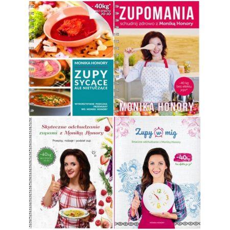 Zestaw 4 Ksiazek Skuteczne Odchudzanie Zupami Zupy Sycace Ale Nietuczace Zupomania Zupy W Mig