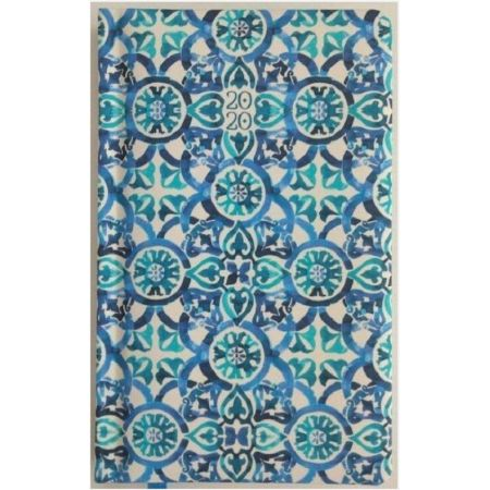 Kalendarz 2020 pastel a6 niebieska tapeta tns 35952