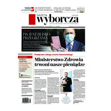 Gazeta Wyborcza - Olsztyn 118/2020