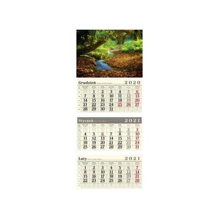 Kalendarz 2021 Trójdzielny Las CRUX