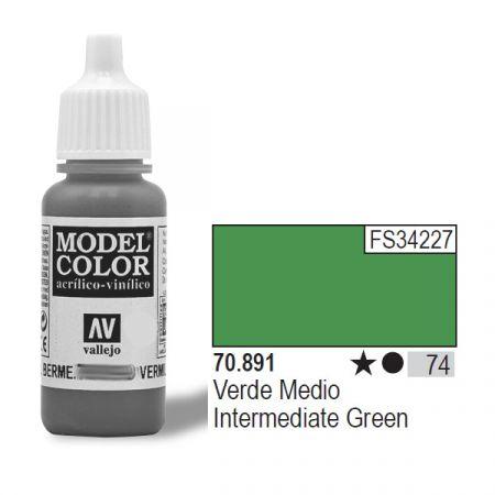 VALLEJO Farba Nr74 Inter med. Green 17mlMatt
