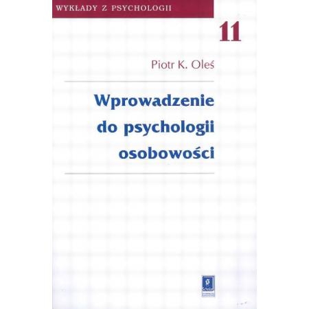 Wprowadzenie do psychologii osobowości t.11