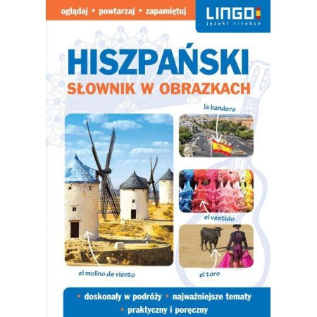 Słownik w obrazkach. Hiszpański