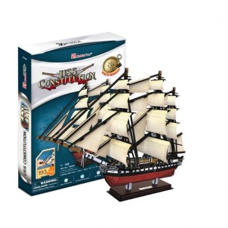 Puzzle 3D Żaglowiec USS Constitution