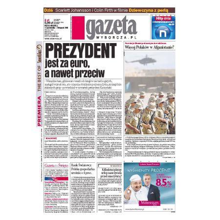 Gazeta Wyborcza - Płock 256/2008