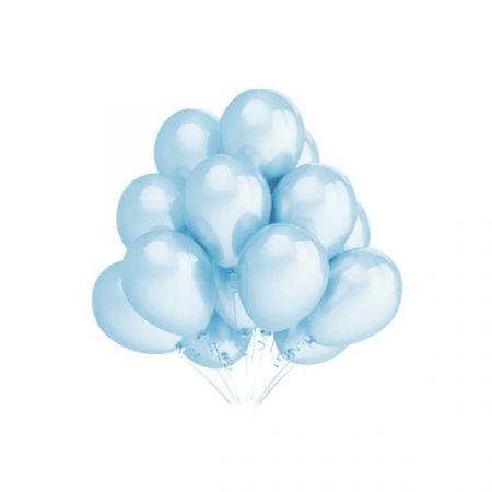 Balon A'5 B057 błękitny metalik 12'' (30cm)