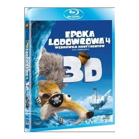 Epoka lodowcowa 4: Wędrówka kontynentów (Blu-ray 3D)