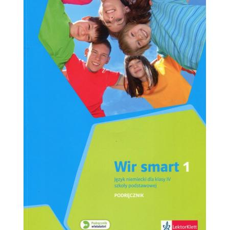 Wir Smart 1. Język niemiecki. Podręcznik. Klasa 4. Szkoła podstawowa