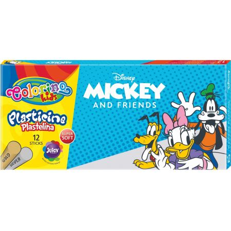 Plastelina Colorino Kids 12 kolorów Mickey