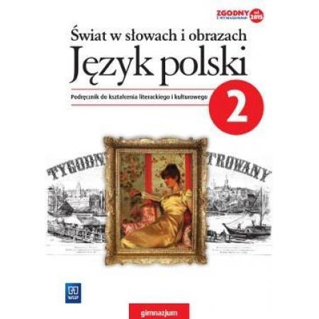 J. Polski GIM 2 Świat w słowach i obrazach Podr.
