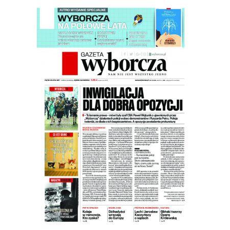 Gazeta Wyborcza - Częstochowa 174/2017