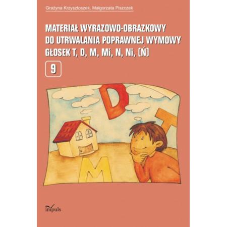 Materiał wyrazowo-obrazkowy... T,D,M,N.