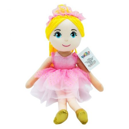 Lalka Daria różowa sukienka 40 cm