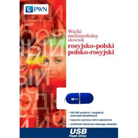 Wielki multimedialny słownik rosyjsko-polski polsko-rosyjski na pendrive
