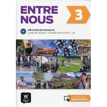 Entre nous 3 Podręcznik z ćwiczeniami + CD