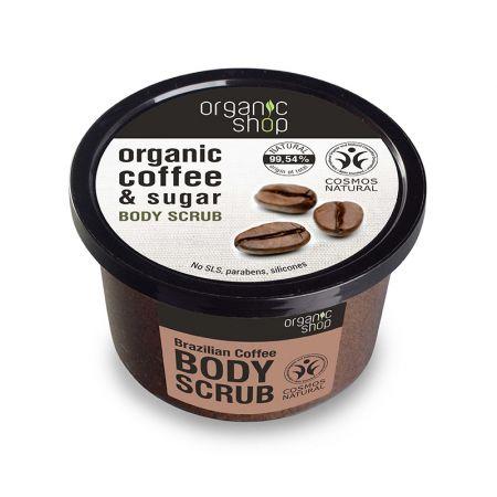 Peeling do ciała Brazylijska kawa