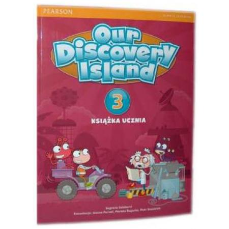 Our Discovery Island 3 SB+kod PEARSON