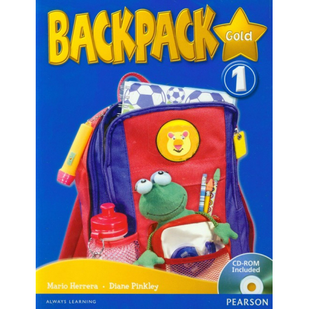Backpack Gold 1 SB PEARSON